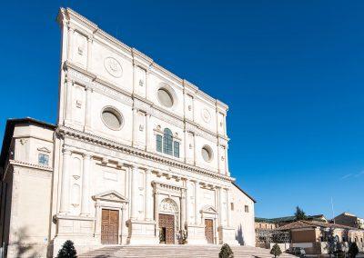 San Bernadino Basilica LAquaila Italy