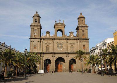 The Cathedral of Santa Ana, Las Palmas Canary Islands